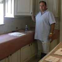 Home Remodeling expert - George Villarreal On The Job